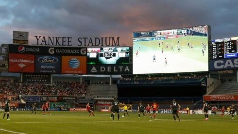 That was the night Ireland played the world and European champions in the Bronx...