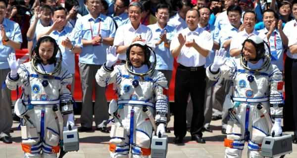 image - China launches manned space mission - Asia   Middle East