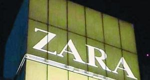 Spain's Inditex, which owns the Zara chain, posted its weakest quarterly growth in net profit in four years