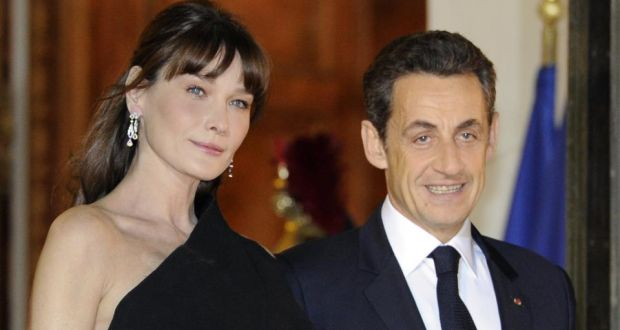 26f4de9694 What binds Carla Bruni and Nicolas Sarkozy? Love, actually