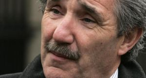 Independent TD John Halligan: called on the Tánaiste 'to condemn the Catholic Church for attempting to intervene in the running of this State'. Photograph: Dara Mac Donaill/The Irish Times
