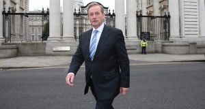 Taoiseach Enda Kenny: revealed yesterday  that opponents of the abortion legislation have branded him a murderer and sent plastic foetuses and letters written in blood. Photograph: Niall Carson/PA Wire