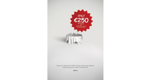 Entered by - DDFH&B | Title of work - ADFX | Client - IAPI | Product - ADFX Awards | Concept - Mark Shanley and Paddy Treacy | Creative Director - Gavin O'Sullivan | Art Director - Mark Shanley | Copywriter - Paddy Treacy | Photographer - Adrian Stewart | Account Director - Mark Grehan | Retoucher - Walter McLachlan, iCraft