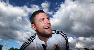 Jamie Heaslip, will be hoping to rubber-stamp his Test place. Photograph: Dan Sheridan/Inpho