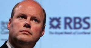 Stephen Hester who  is to step down as  chief executive of the Royal Bank of Scotland in December