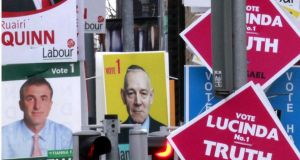 The trend has been downwards for Fine Gael since a high just after the last general election. Photograph: Brenda Fitzsimons