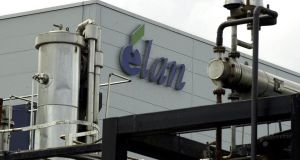 Elan shares rose the first time in three days this morning, after a majority of investors voted against three of four proposals that stand in the way of Royalty Pharma's $6.7 billion bid. Photo: Bloomberg