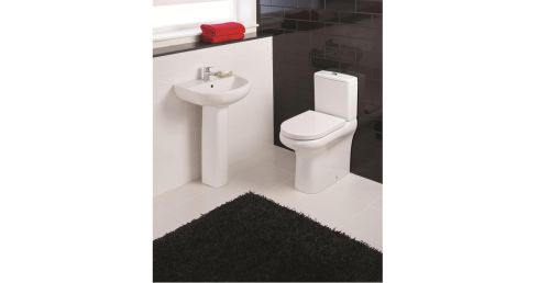 The Compact Rimless toilet is compact (62.5cm by 82.5cm), saves on water and is hygienically hands-free. It has a dual-power flush cistern, Gerbrit fittings, a soft-close seat and backs to the wall to conceal pipe work. The toilet uses four litres for a main flush and 2.5 litres on a small flush, a third less than standard toilets. It also has a battery-operated touch-free flushing system (powered by 4 four AA batteries contained in a waterproof battery pack). Reduced from €599 to €399 at all branches of BTW (1890-3333221, btw.ie).