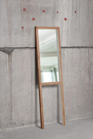Irish designer Fergal O'Leary of Horizon Furniture (021-4313313 horizonfurniture.ie) on Tramore Road in Cork has begun his summer sale. This hall mirror (176cm by 48.50cm), is made from oak and finished in clear and white lacquer. It leans against the wall and is reduced €350 to €200.