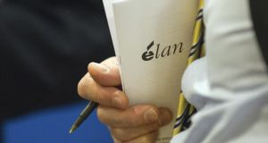 Irish drug company Elan put itself up for sale on Friday, seeking to fend off a hostile bid by Royalty Pharma that shareholders will consider next week. Photo: Bloomberg