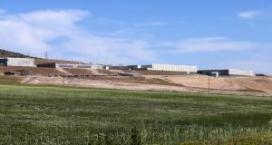 All eyes on Big Brother: the NSA's $2 billion maximum-security data centre under construction in Bluffdale, Utah. Photograph: George Frey/Getty