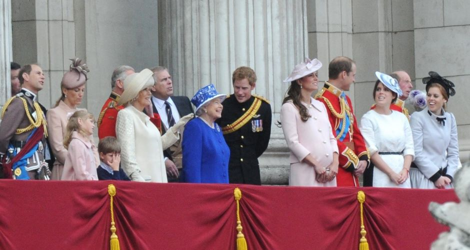 Royal outing for Queen Elizabeth's birthday