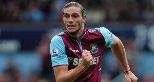 Andy Carroll is expected to agree  West Ham United transfer this week.  Photograph: Jamie McDonald/Getty Images