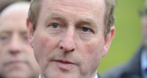 Taoiseach Enda Kenny was jeered by demonstrators