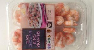Several years ago Tesco looked at the shelves of fresh prawns in M&S and decided it would have a bit of that action. In the early days, it struggled to match its more upmarket rival, but in recent times the chain has upped its game, and while its crustaceans may not be as nice, they are close and a whole lot cheaper. These plain king prawns have a nice meaty texture, a pleasing saltiness, and are of a good size, too. We'd highly recommend them.  Verdict: Prawn starStar rating: *****
