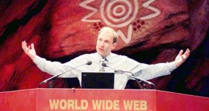 Tim Berners-Lee, inventor of the world wide web with Robert Cailliau, convinced CERN not to seek royalties for the invention, changing the internet for ever