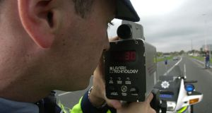 Detection: three-quarters of drivers believe fewer gardaí are on traffic-enforcement duties. Photograph: Cyril Byrne