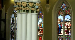The interior of the St Stephen's Greeen church, 150 years old.  Photograph: Cyril Byrne