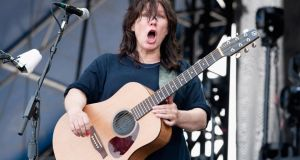 Kim Deal of The Breeders. Photograph: Erika Goldring/Getty Images