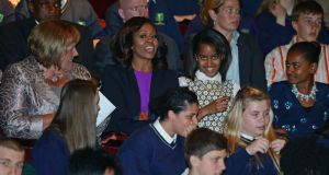 The American press saw the Obamas' Irish experience as rather stale.
