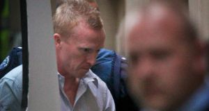 Bayley (41) in Melbourne Supreme Court on June 11th when he was convicted of the murder and of Jill Meagher.  Photograph: Jason South / Fairfax Media
