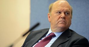 Minister for Finance Michael Noonan. Photograph: Eric Luke/The Irish Times