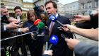 Minister for Justice Alan Shatter says fines collection legislation will be published in coming weeks .Photograph: Bryan O'Brien/The Irish Times
