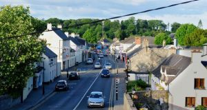 The by-pass has brought life back to Leixlip Village. Photograph: Aidan Crawley