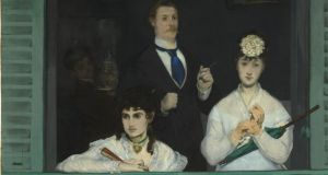 Love and marriage: a detail of Manet's The Balcony, including (left) Berthe Morisot. Photograph: Musée d'Orsay