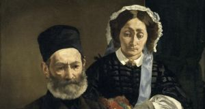 Love and marriage: a detail of  Manet's portrait of his parents. Photograph: Musée d'Orsay
