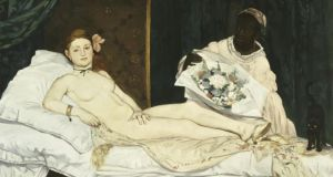 Love and marriage: a detail of Manet's Olympia, depicting Victorine Meurent. Photograph: Musée d'Orsay