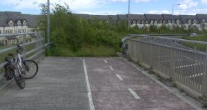 """This is the cycle lane near Holywell in Swords, the road to nowhere."" Sent in by Eunan Gaffney"