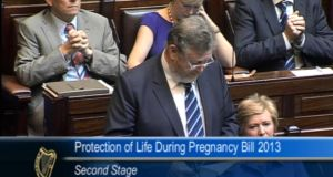 Speaking in the Dáil, Minister for Health James Reilly said he was 'fully aware of the sensitive nature' of the issue.