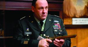 Gandolfini as General Miller in In the Loop, directed by Armando Iannucci. Photograph: Nicola Dove