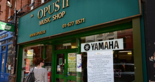 ede8a17eabea0 The Opus 11 music shop on Dublin's George's Street which is closing and  moving to an