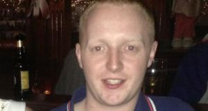 Kevin Bell (26) from Killeavy, County Armagh. He died in New York earlier this week after being struck by a car.
