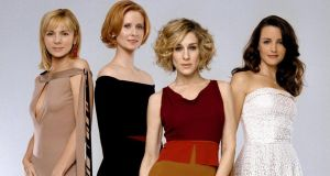 The cast Sex and the City (from left) Kim Cattrall, Cynthia Nixon, Sarah Jessica Parker and Kristin Davis