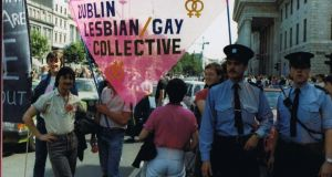 Pride: Dublin Gay Pride Week in 1984. Photograph: Irish Queer Archive