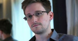 NSA whistleblower Edward Snowden. Photograph: Reuters