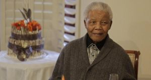 Former South African president Nelson Mandela: public concern about his health has been high since he was admitted to hospital in early June. Photograph: Reuters