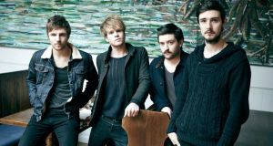 Kodaline's debut album In A Perfect World has entered at No.2 in the official UK album charts.