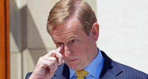 Taoiseach Enda Kenny pictured last week.   Photograph: Eric Luke / THE IRISH TIMES