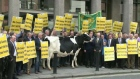 Farmers stage protest over CAP reform