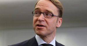 "Bundesbank chief Jens Weidmann: ""Mr Draghi did not speak of unlimited buy-ups without conditions."" Photograph: Ralf Stockhoff"