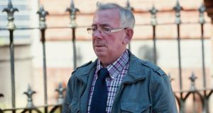 Former priest Patrick Crowley pictured at Cork District Court. Photograph: Daragh Mc Sweeney