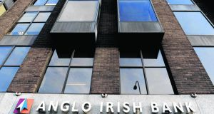 The Anglo Irish Bank headquarters on St Stephen's Green.