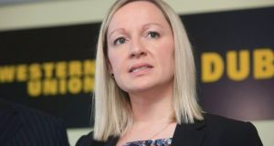 Miniser of State for European Affairs Lucinda Creighton.