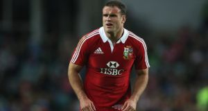 Jamie Roberts of the British and Irish Lions