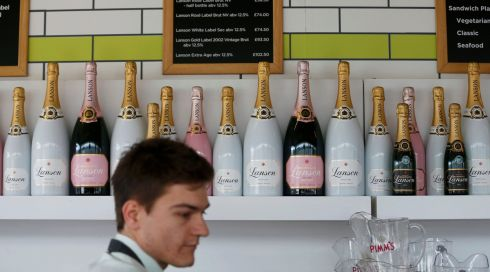 Champagne supernova: And tasty prices too. Photograph: Eddie Keogh/Reuters