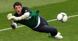 Keiren Westwood.  Photograph: Niall Carson/PA Wire